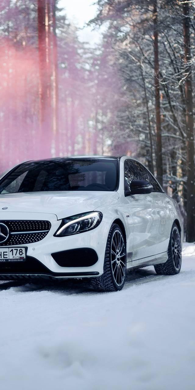 Winter Mod Mercedes Wallpaper By Smallsword D9 Free On