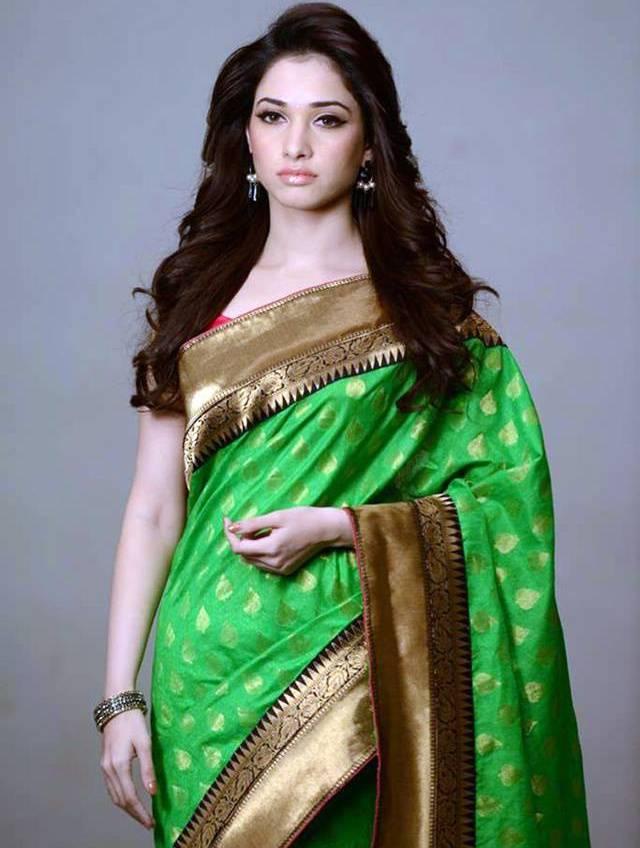tamanna bhatia saree