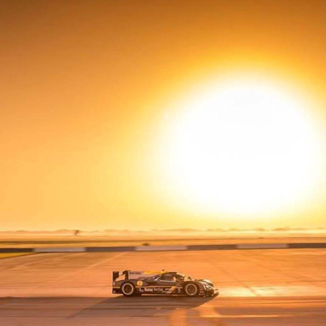 Racing Sunset