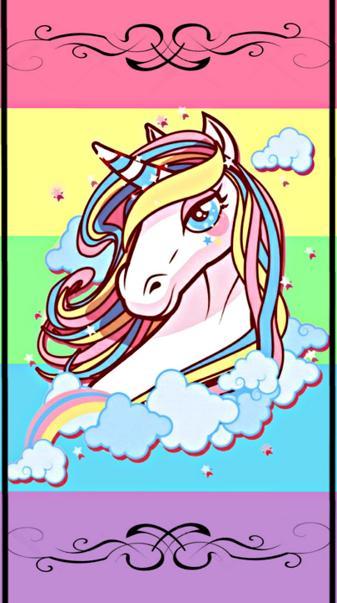 Pastel Unicorn Love