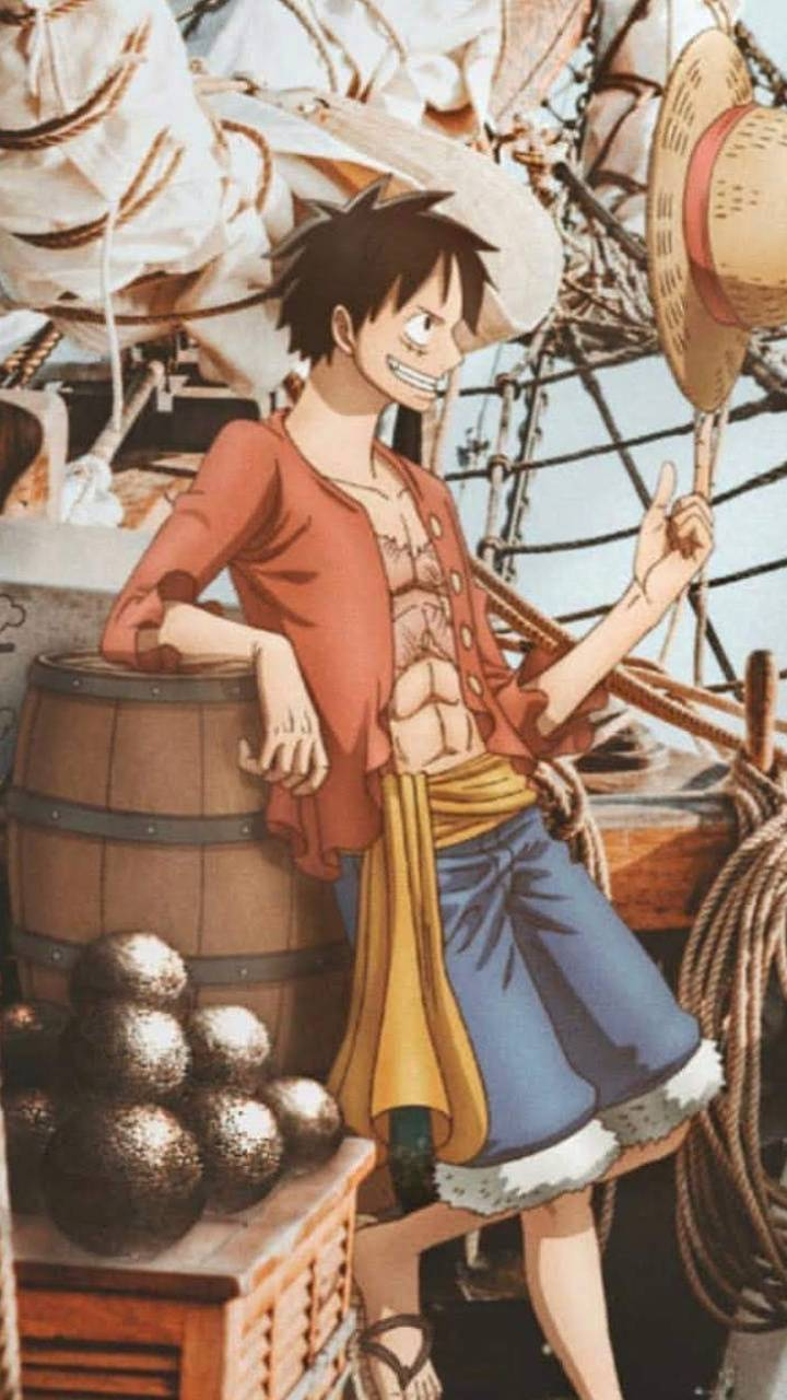 Luffy with hat