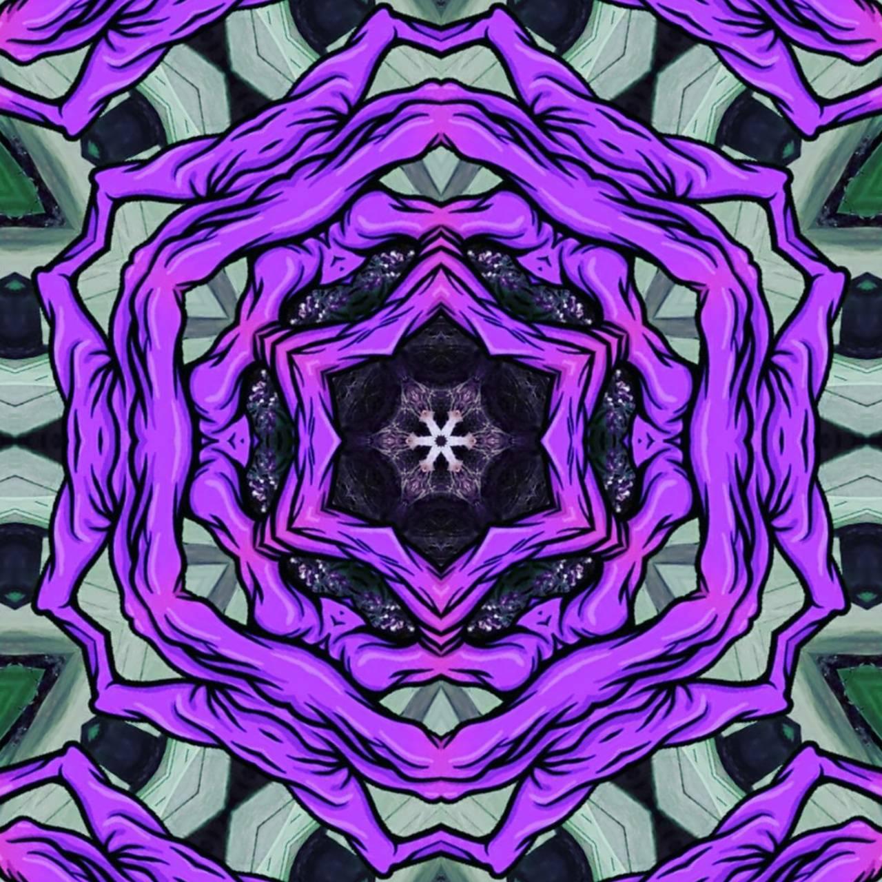 Purple Symmetry