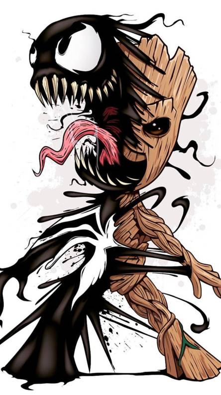 Venom grrot