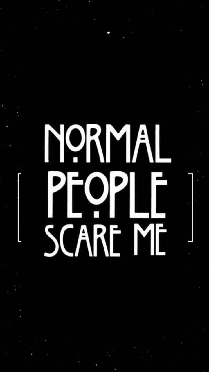 Normal People Scare