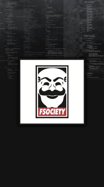 F Society Masked