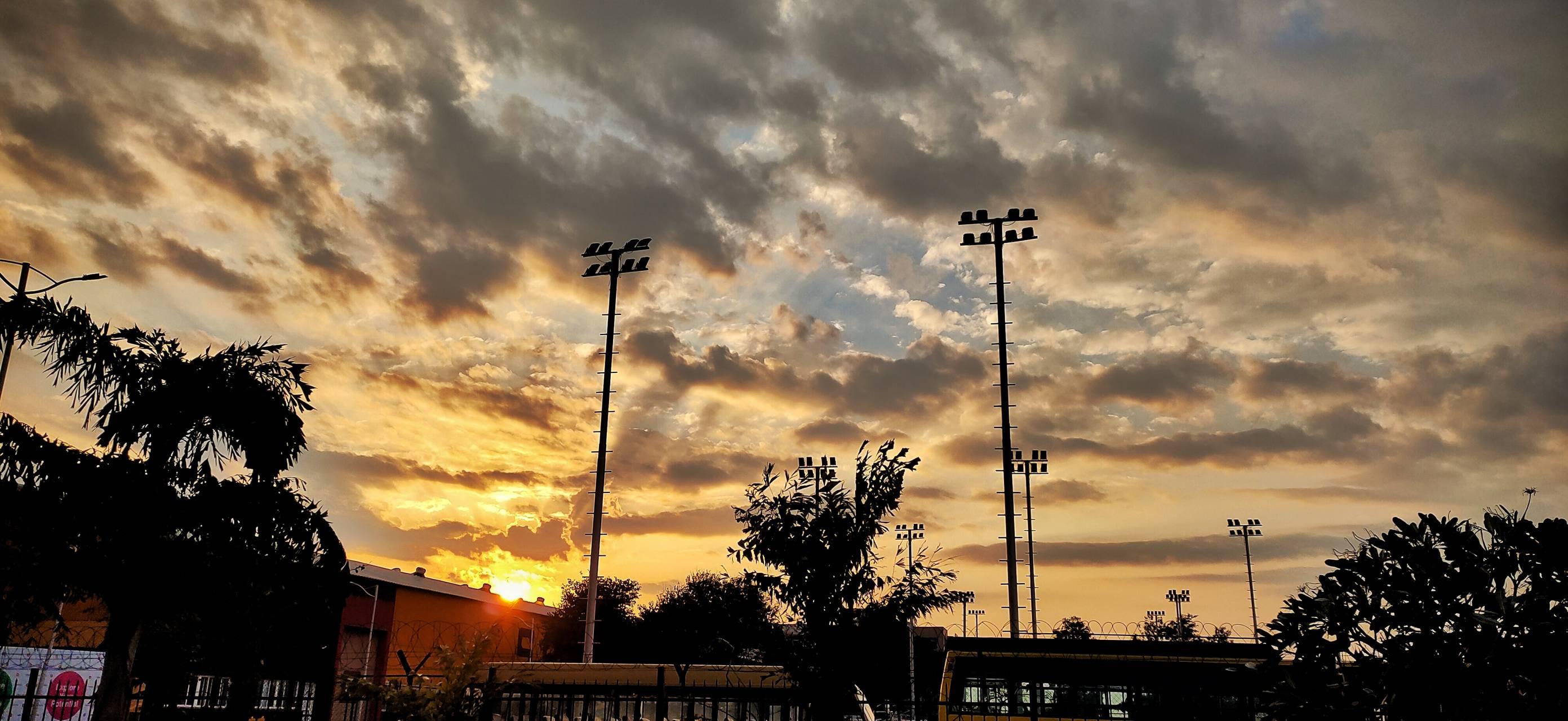 Evening scenerio