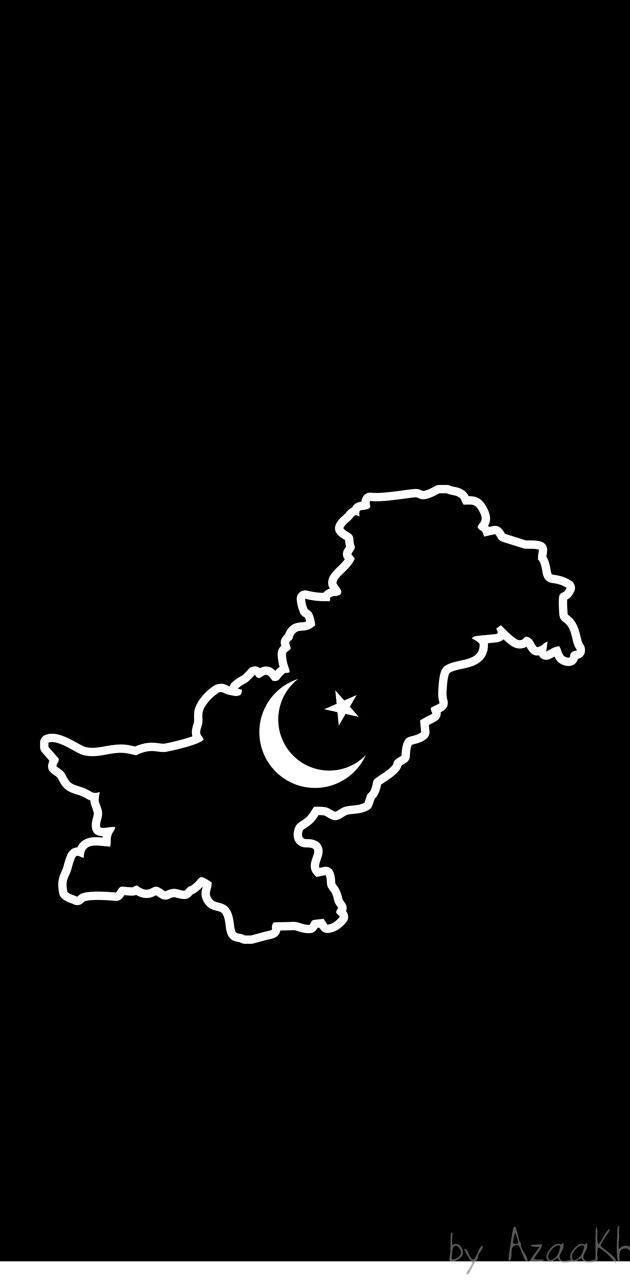 Pakistan Map Simple