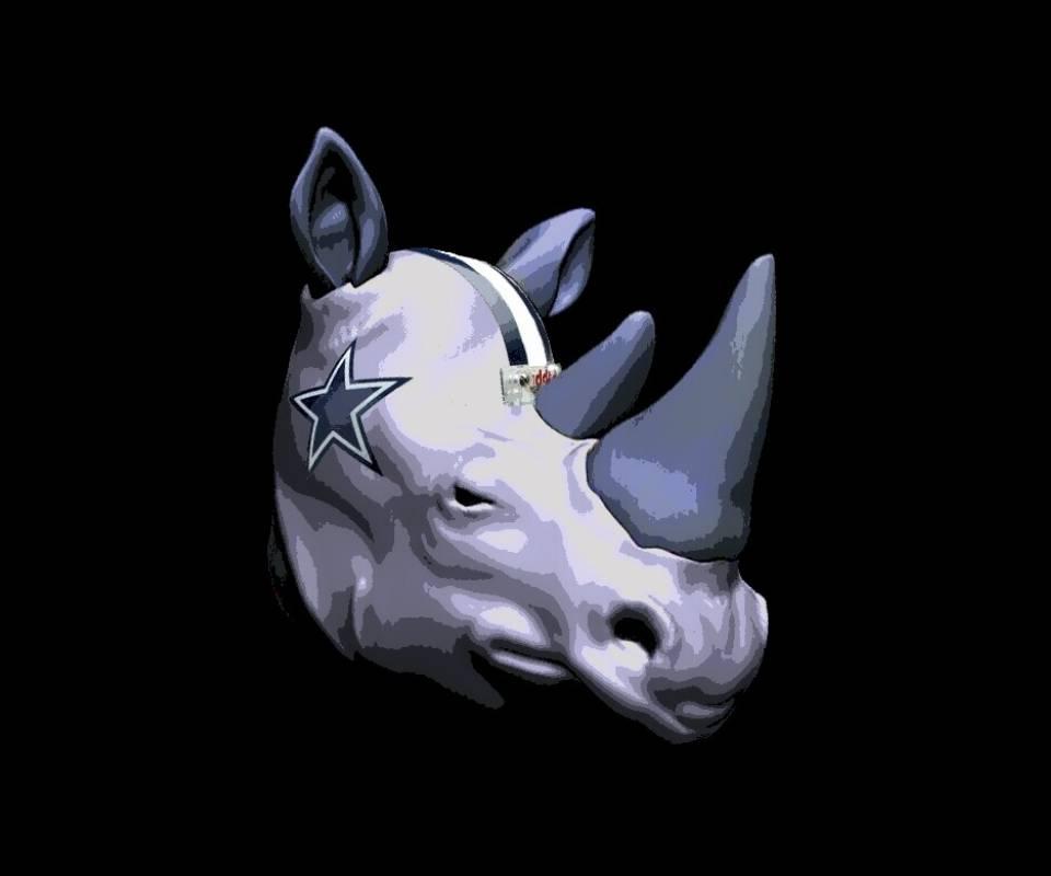Cowboys Plow Rhino