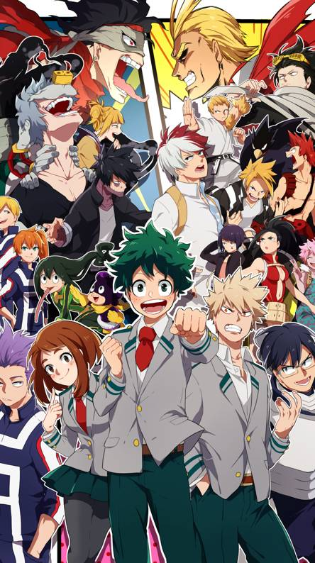 Myhero Academia Ringtones And Wallpapers Free By Zedge