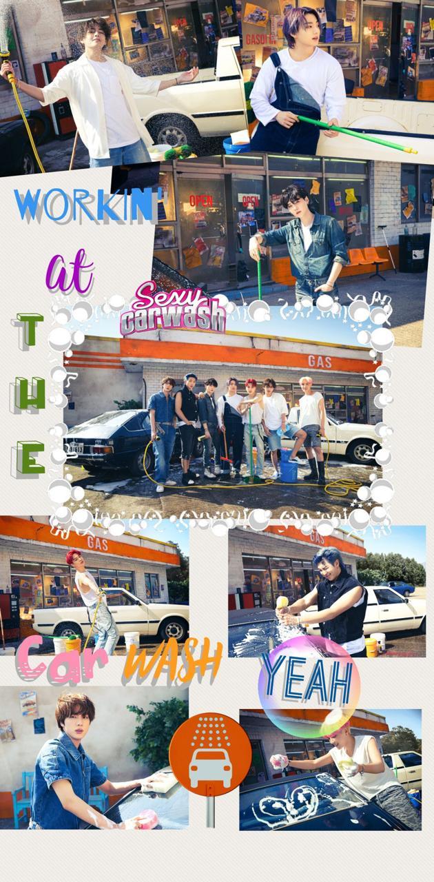BTS - Butter CarWash