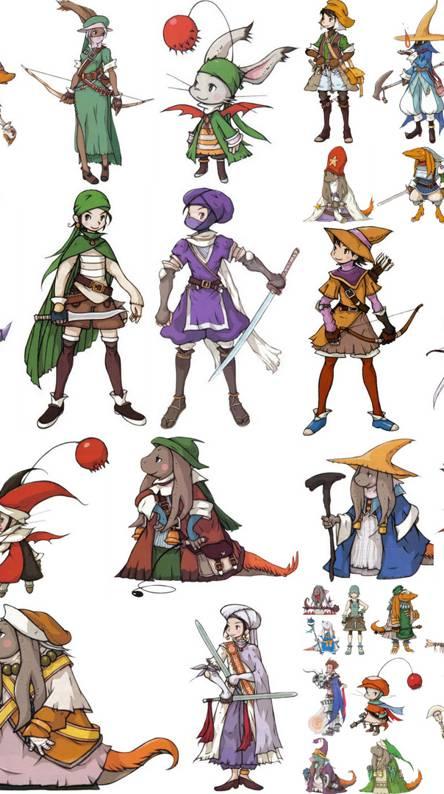 Final Fantasy Jobs