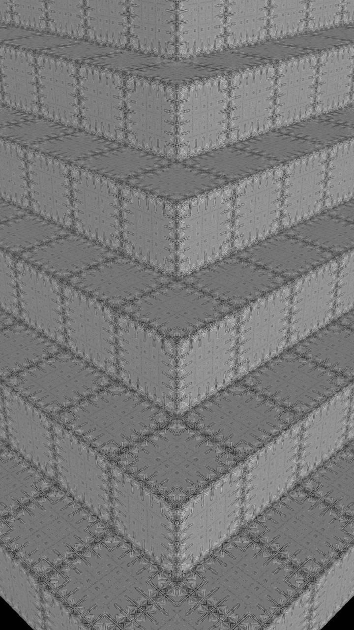 Grey Step Pyramid