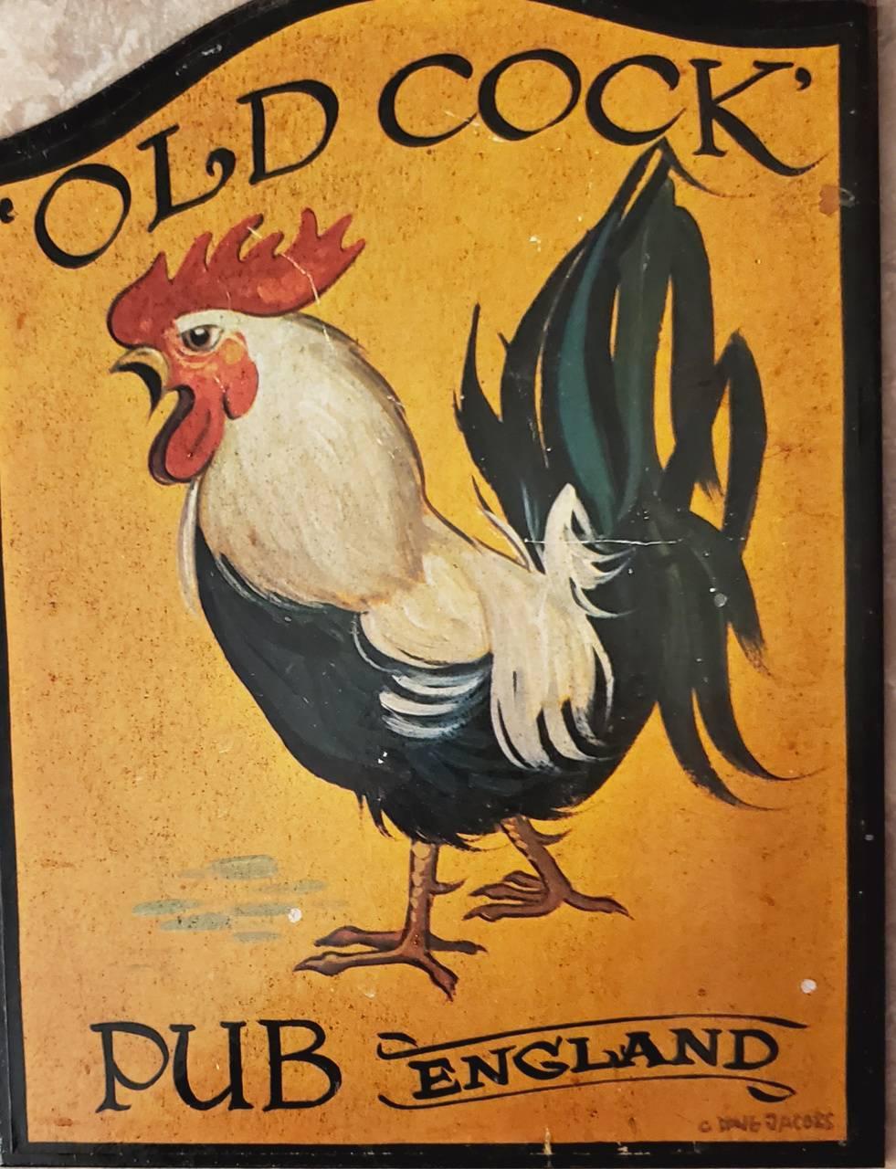 Old C**k Pub England