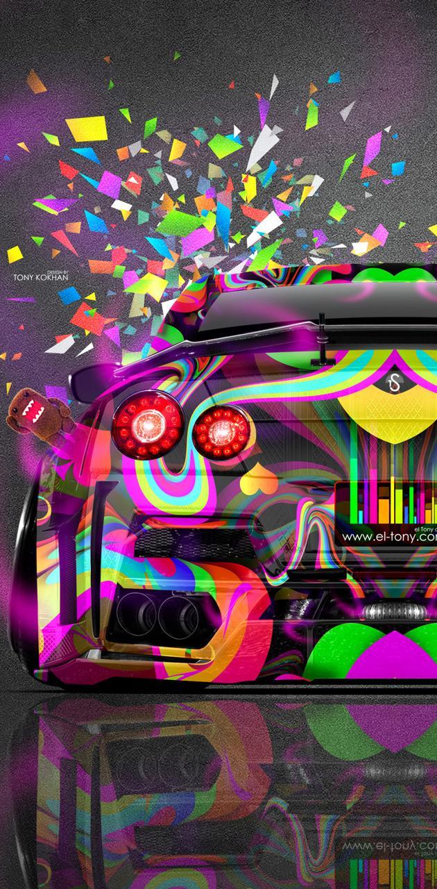GTR multicolour