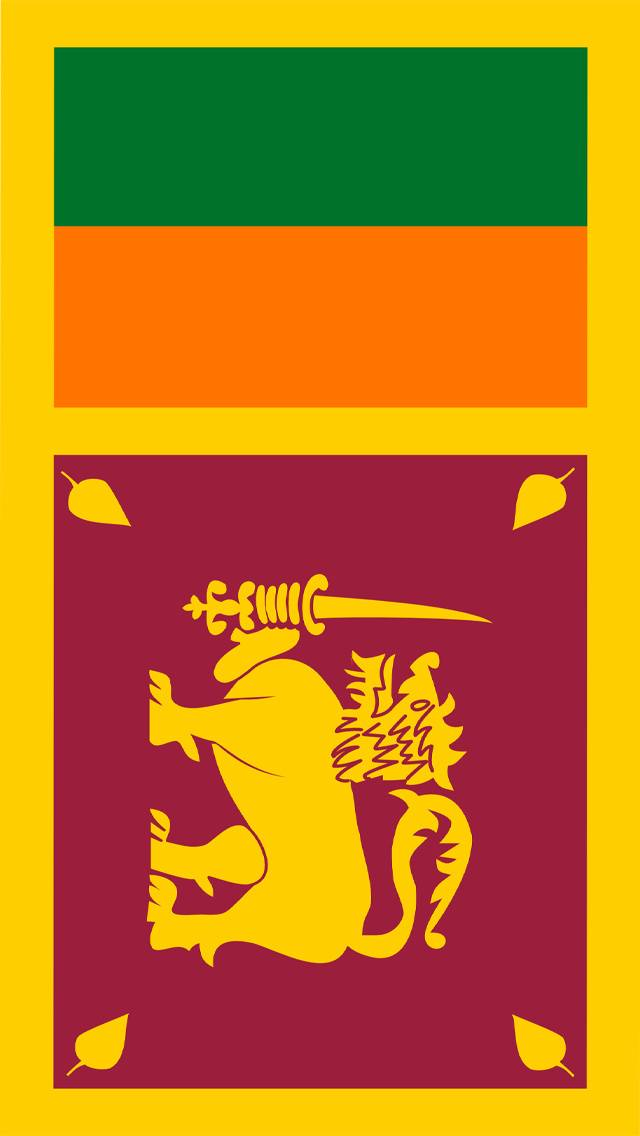Sri Lanka Flag Wallpaper By SHAMIKAGOMEZ